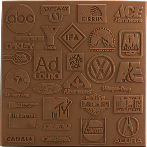 chocolate logos expression